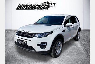 Land Rover Discovery Sport 2,0 SD4 4WD SE Aut. Navi RFK bei fahrzeuge.unterberger.landrover-vertragspartner.at in