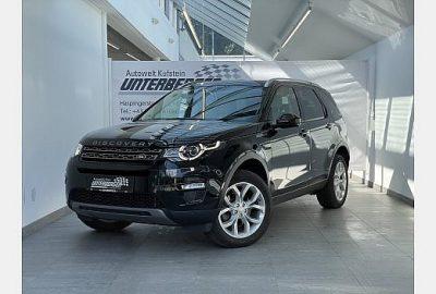 Land Rover Discovery Sport 2,0 TD4 el. Sitze Klimaaut. PDC bei fahrzeuge.unterberger.landrover-vertragspartner.at in